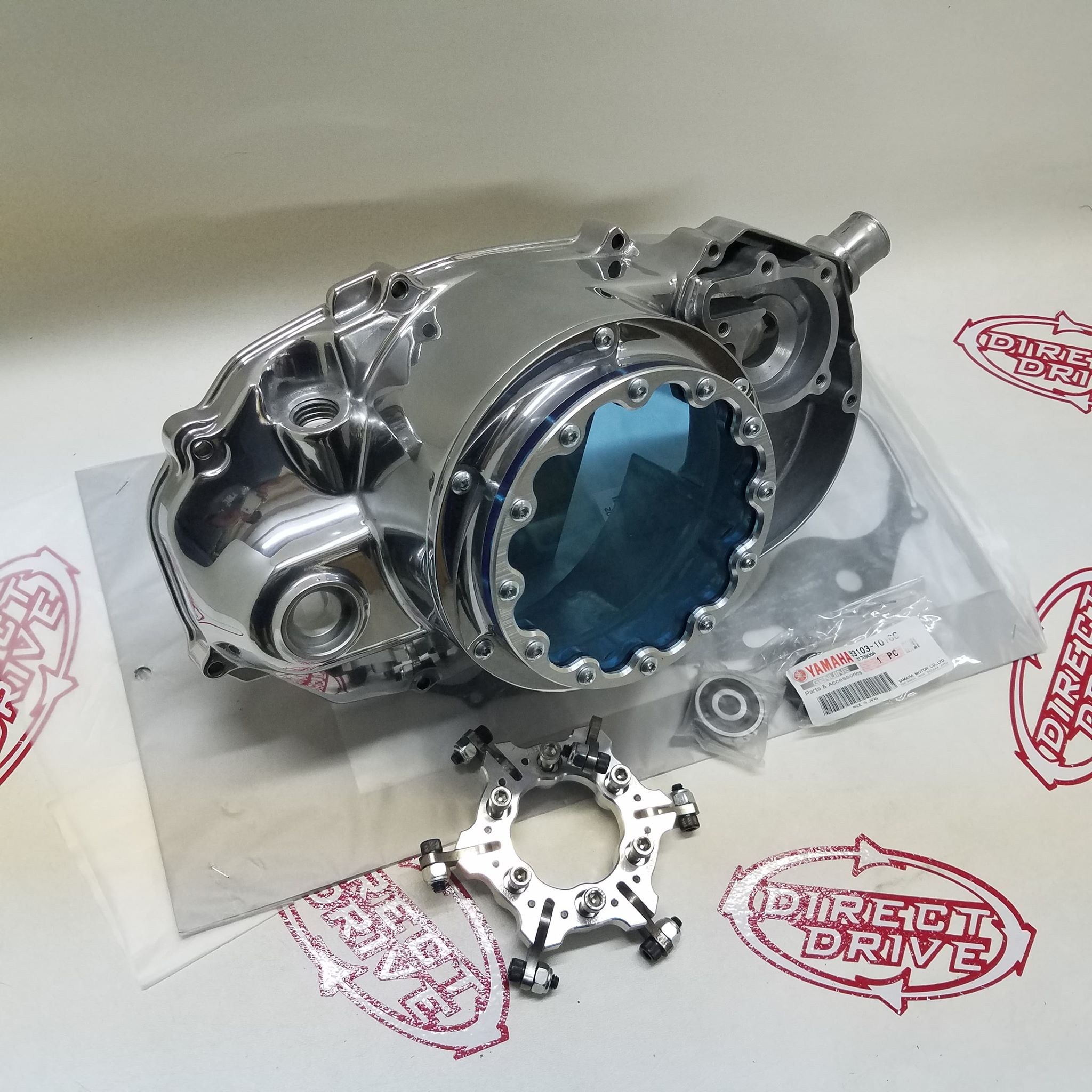 2 Stroke Clutch Cover / lockout