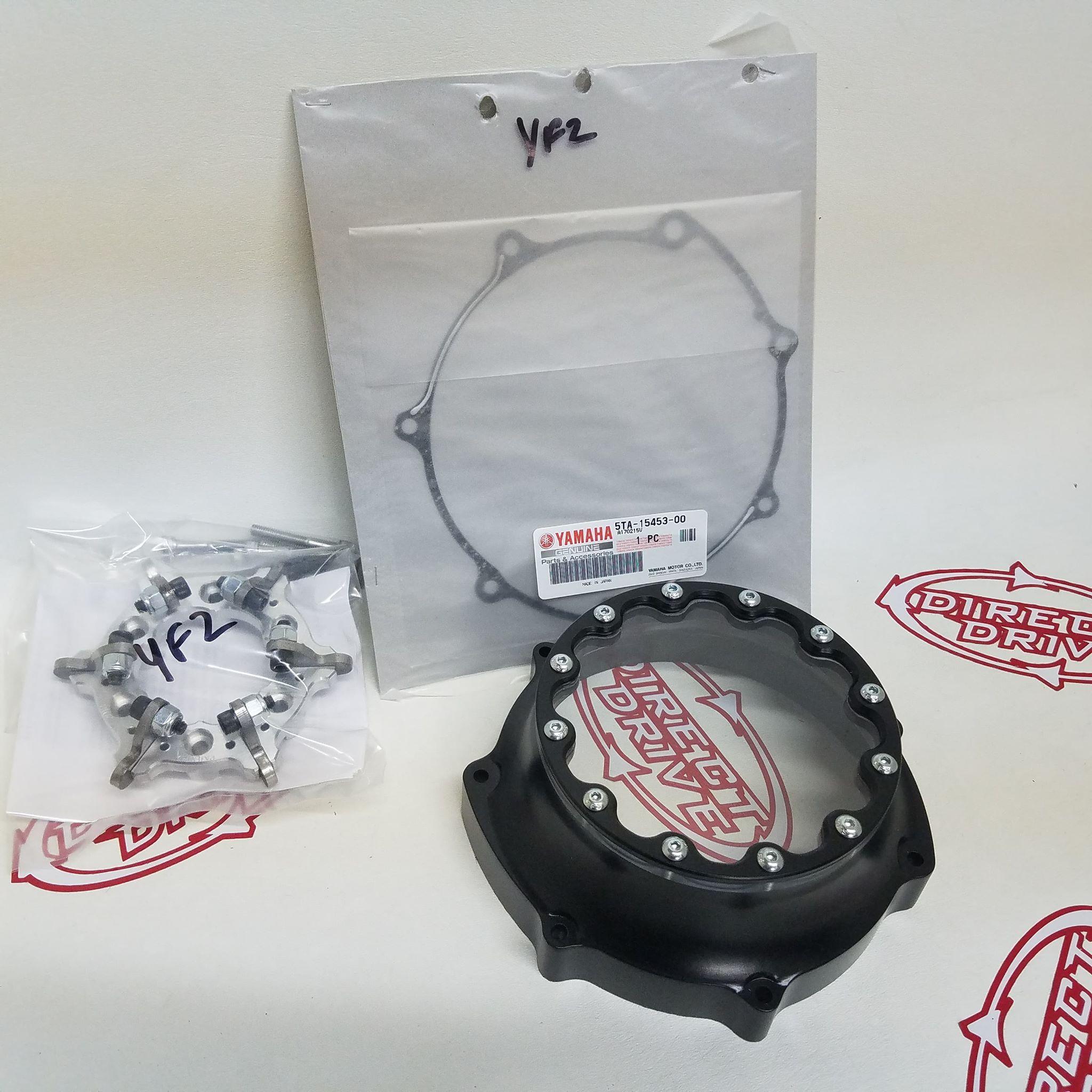 Honda TRX 450 Clutch Cover and Lockout – directdrivecnc net