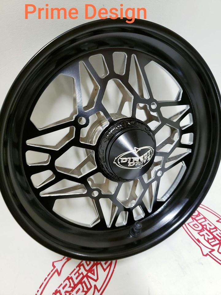 Spindle Mount Wheels